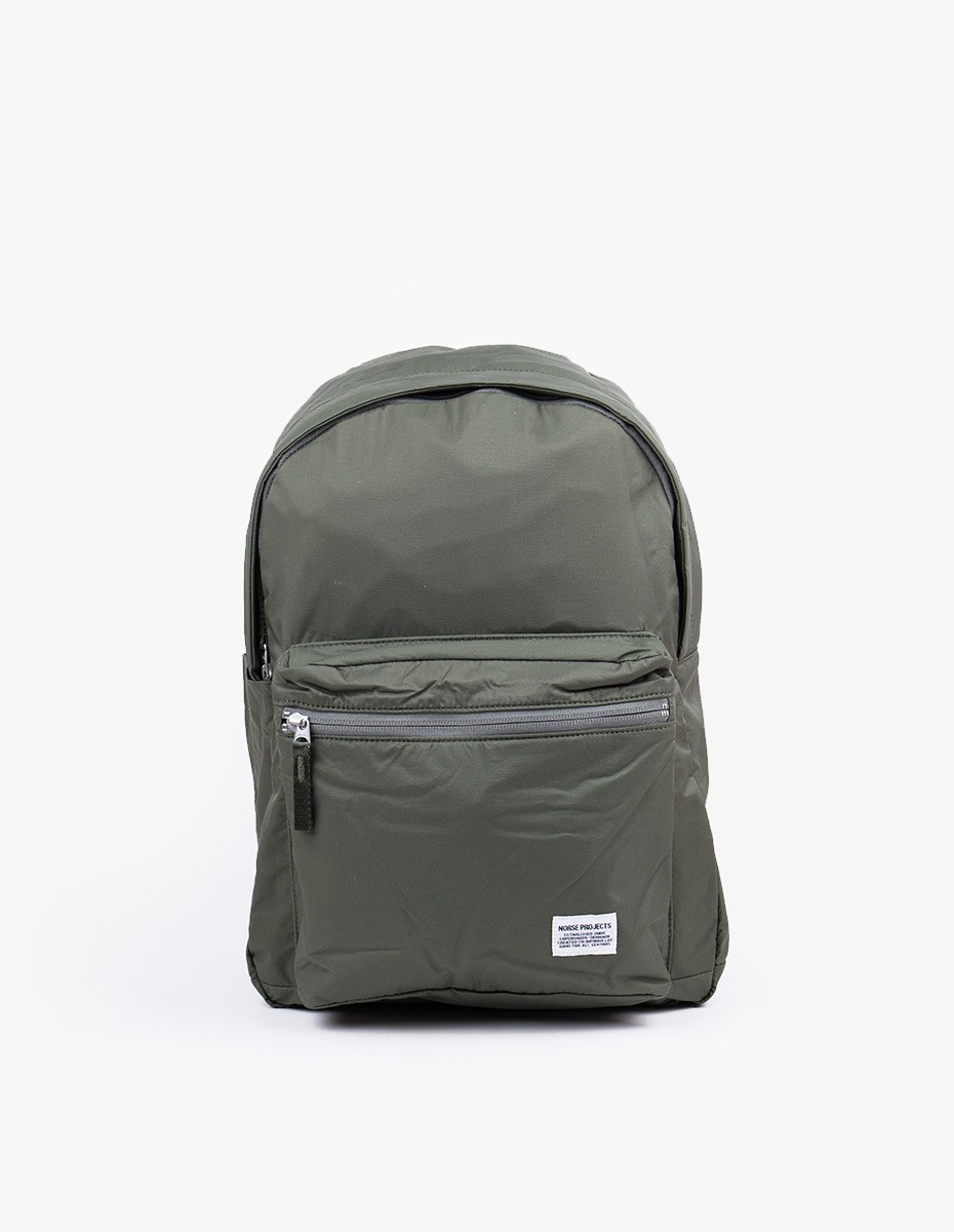 Norse Projects Louie Ripstop Backpack in Dried Olive