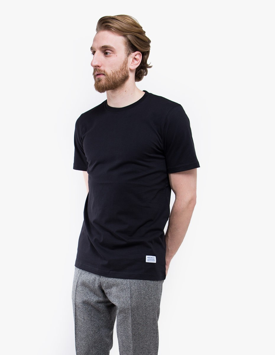 Norse Projects Niels Basic T-shirt in Black