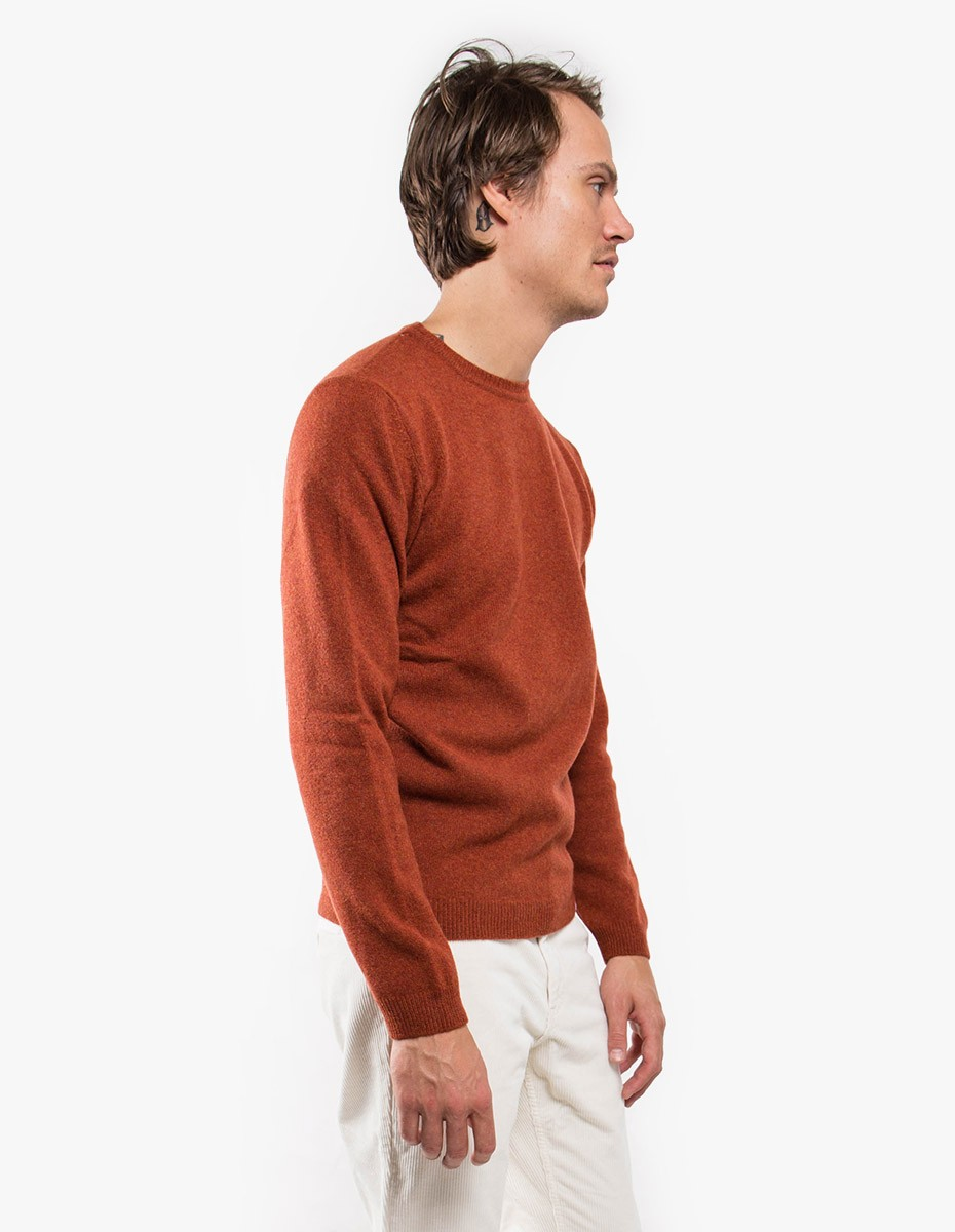 Norse Projects Sigfred Lambswool in Ochre