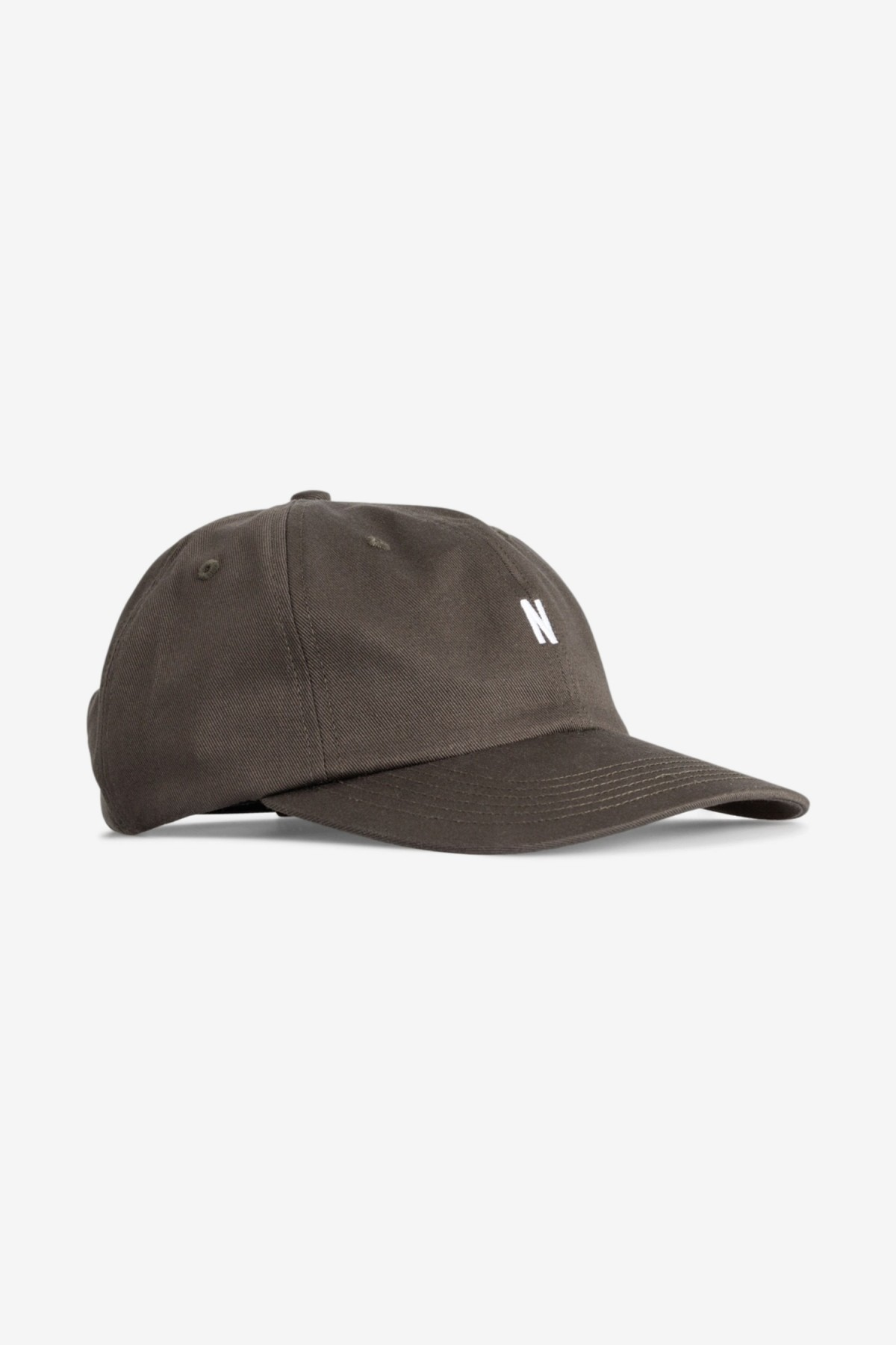 Norse Projects Twill Sports Cap in Beech Green