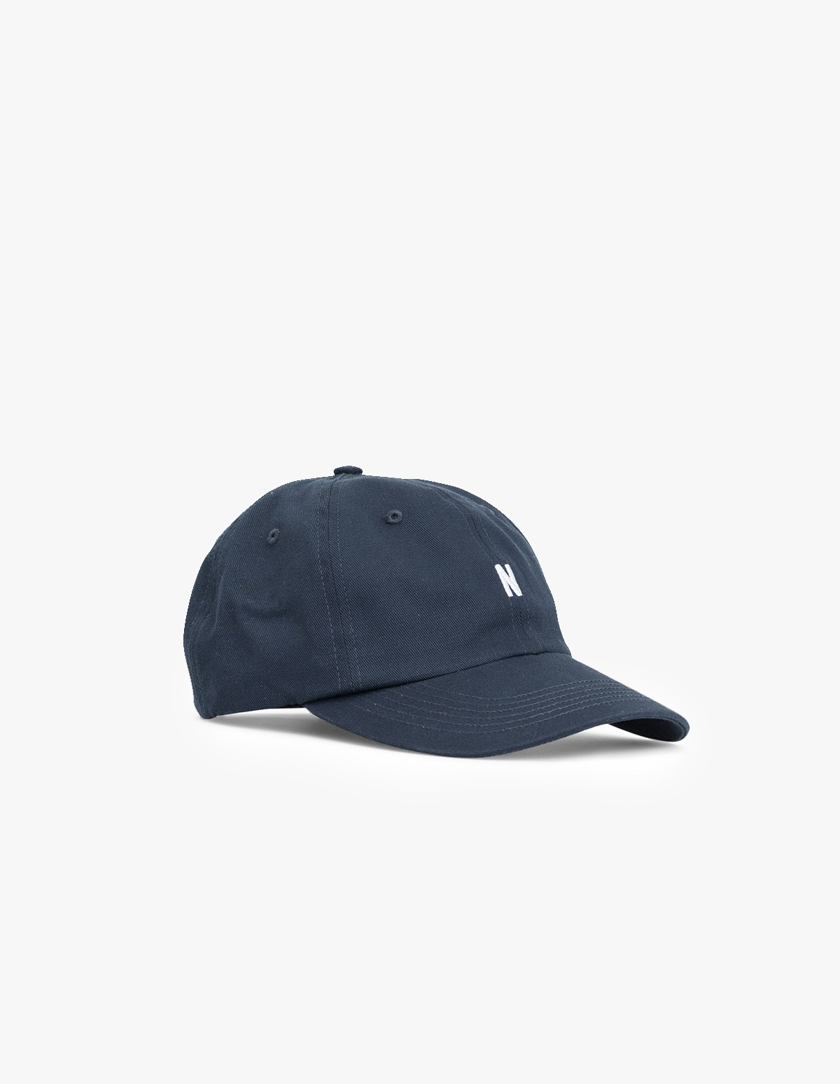 Norse Projects Twill Sports Cap in Dark Navy