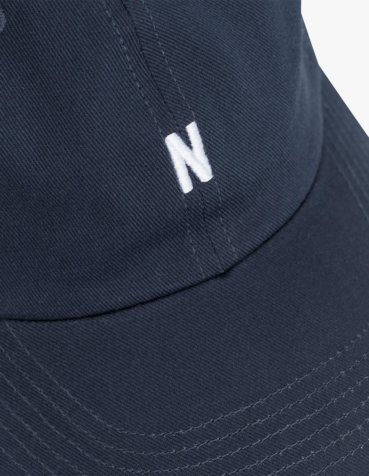 6cc0a21696 Twill Sports Cap in Navy - Norse Projects | Afura Store
