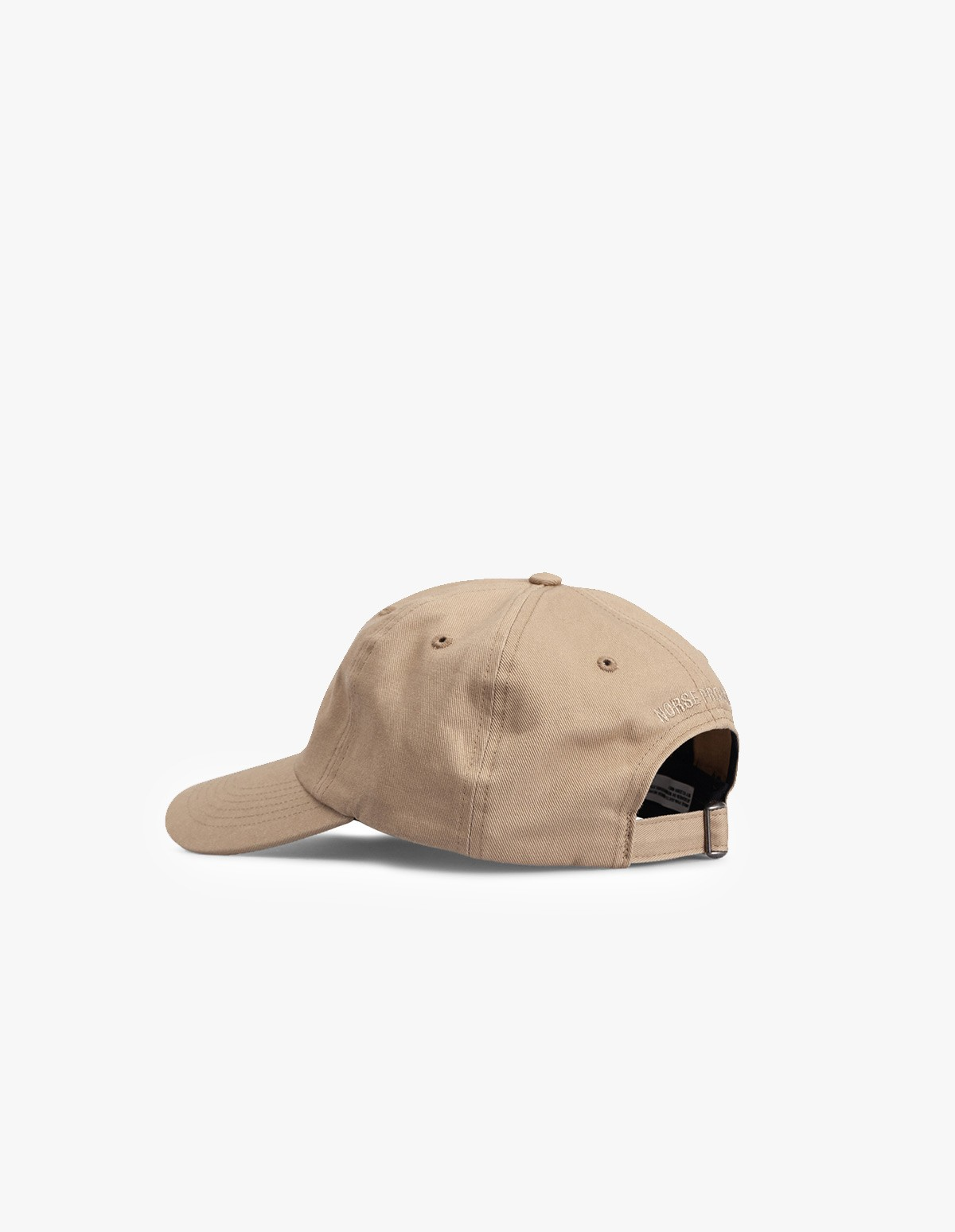 Norse Projects Twill Sports Cap in Utility Khaki