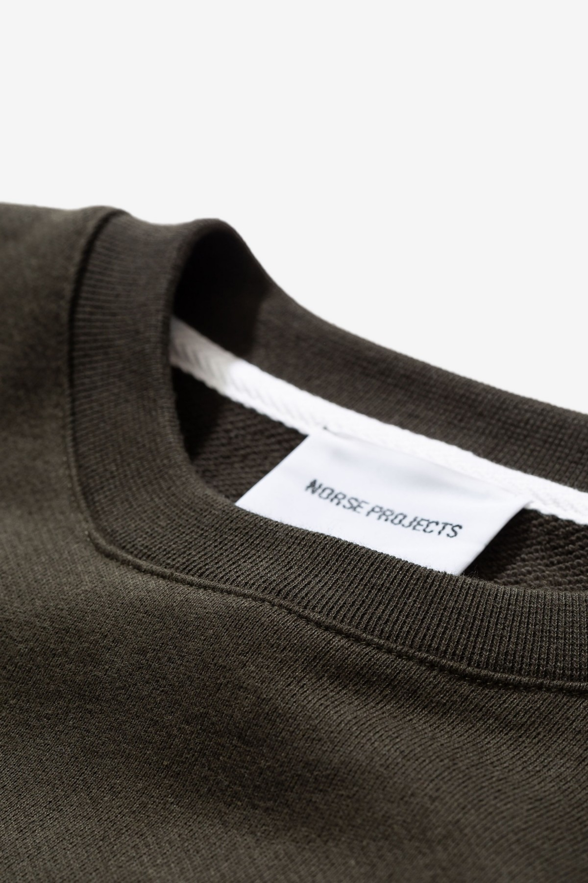 Norse Projects Vagn Classic Crew in Beech Green