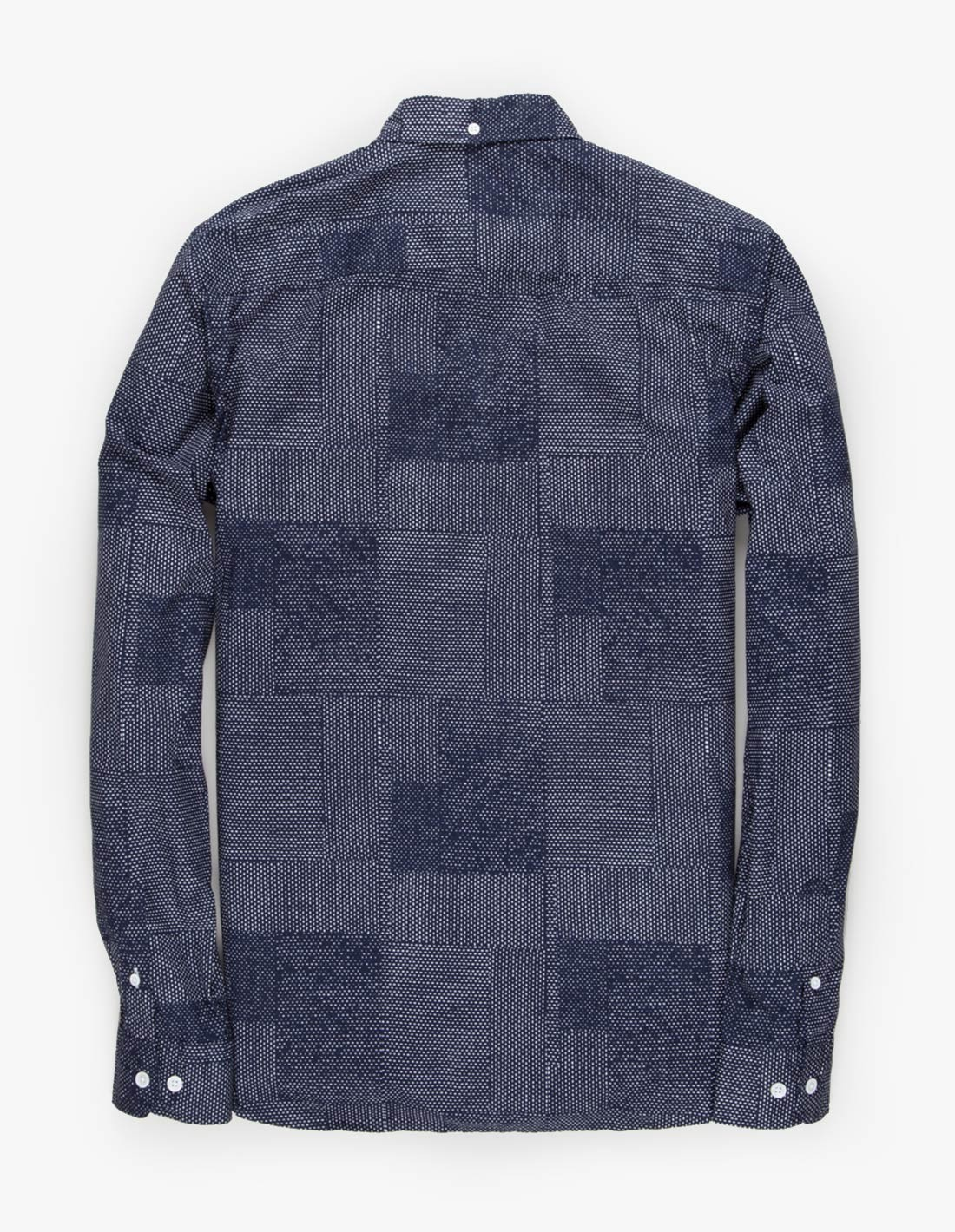 Norse Projects Anton Dot Collage in Navy
