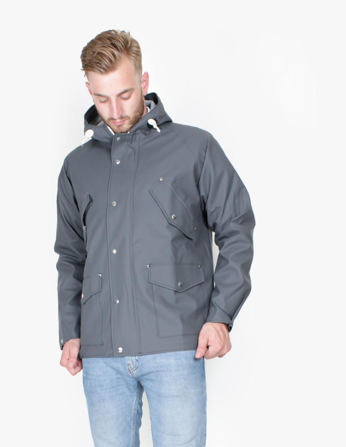 Norse Projects Elka 4 Pocket in Grey