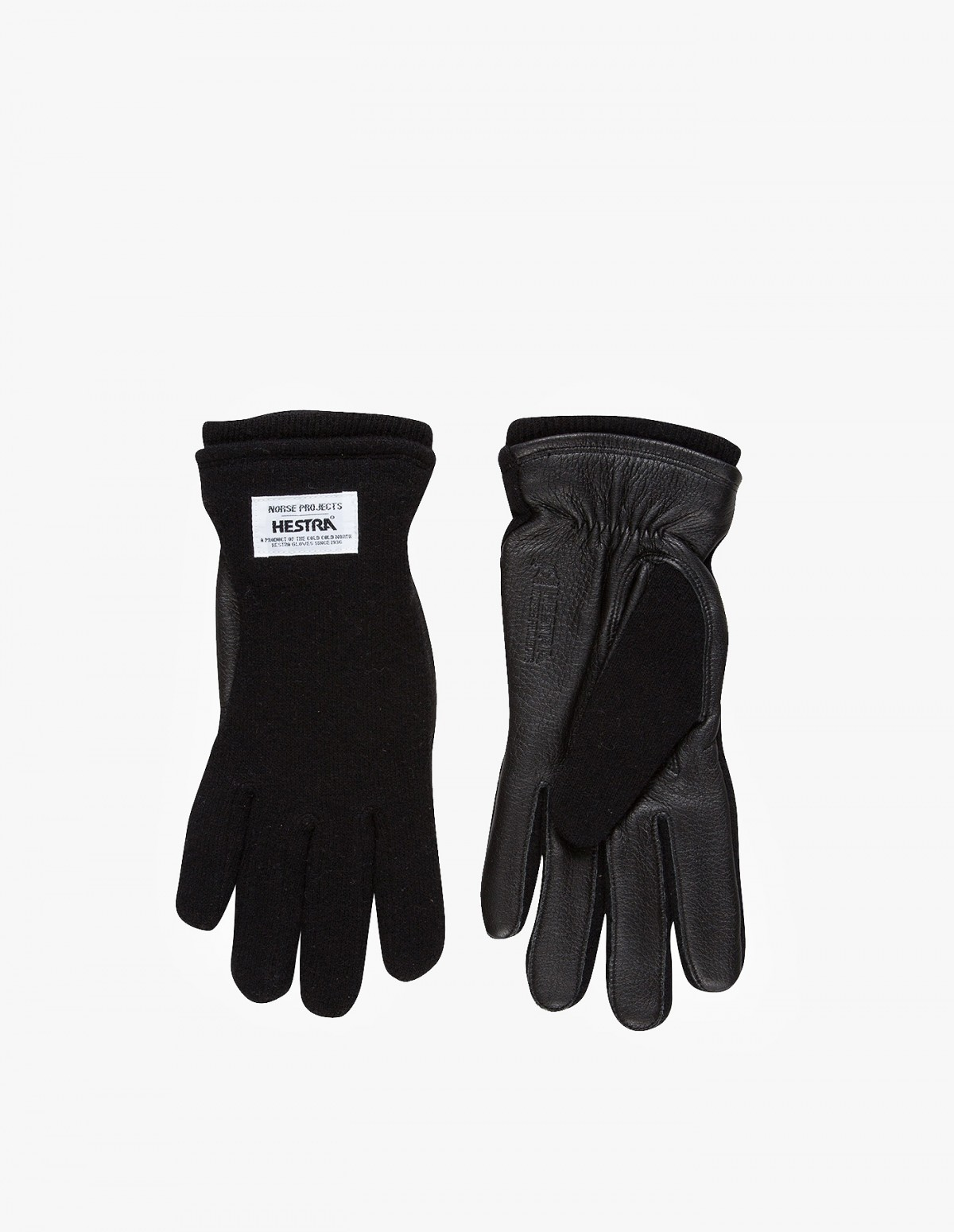 Norse Projects Hestra Svante Gloves in Black