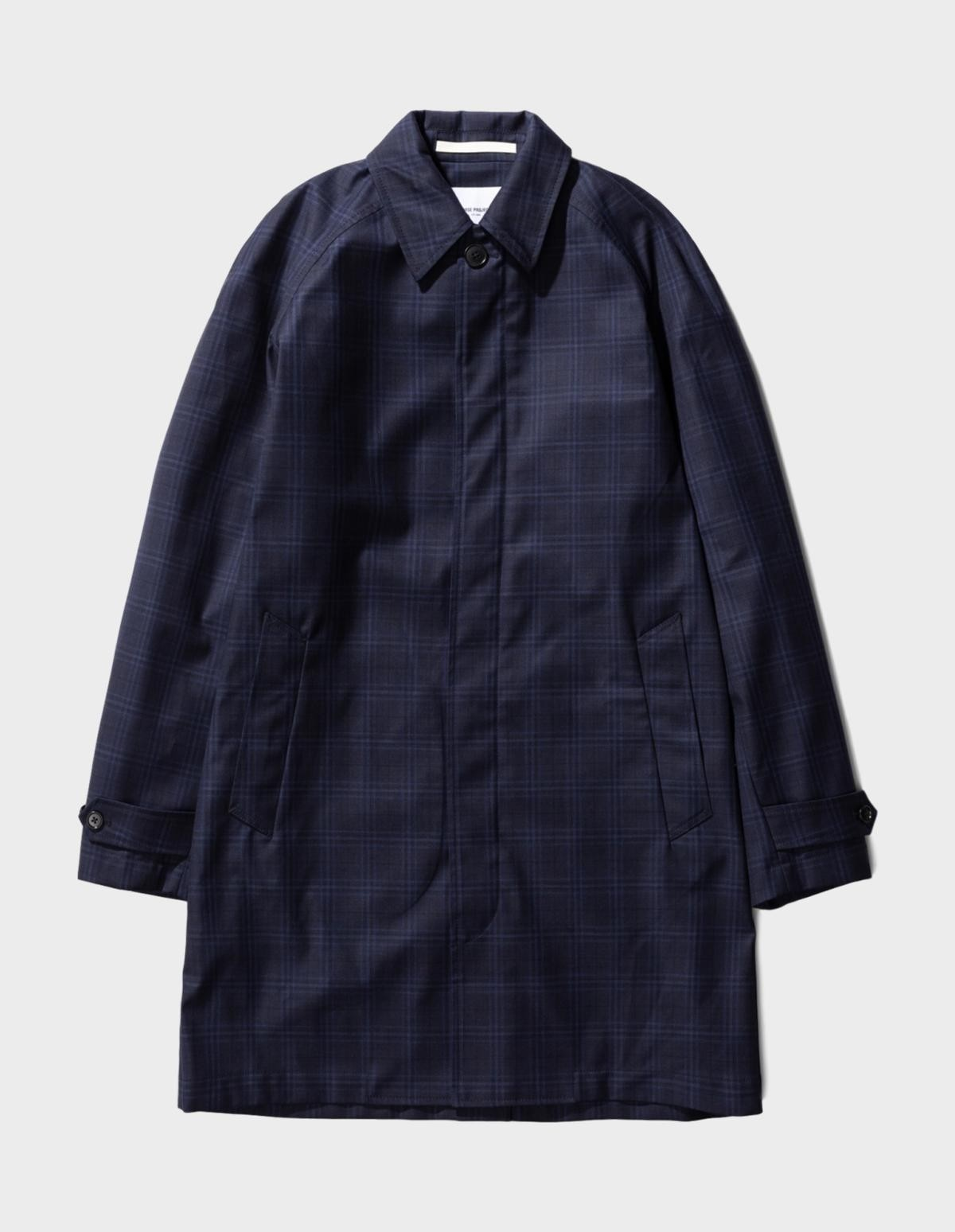 Norse Projects Svalbard 3 Layers Technical Wool in Navy 7000