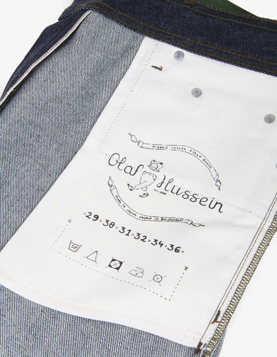 Olaf Hussein New Standard in Raw Indigo
