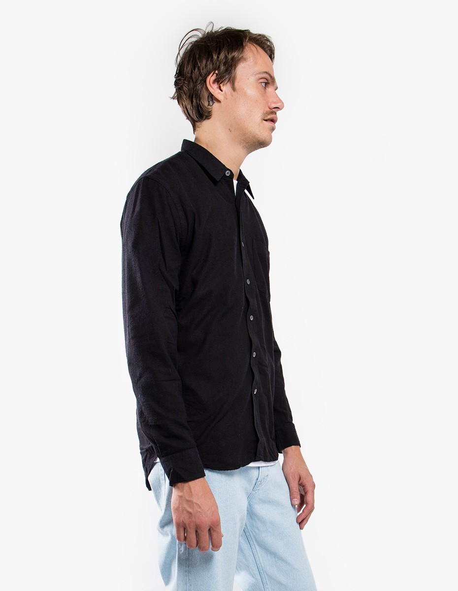 Our Legacy Classic Silk Shirt in Black