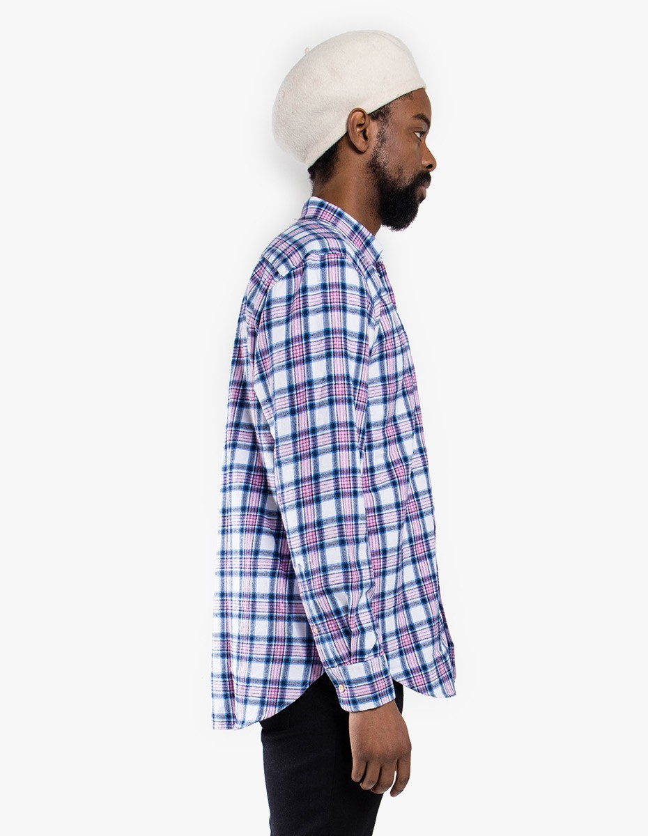 Our Legacy Original BD Shirt in Pink Blue Check