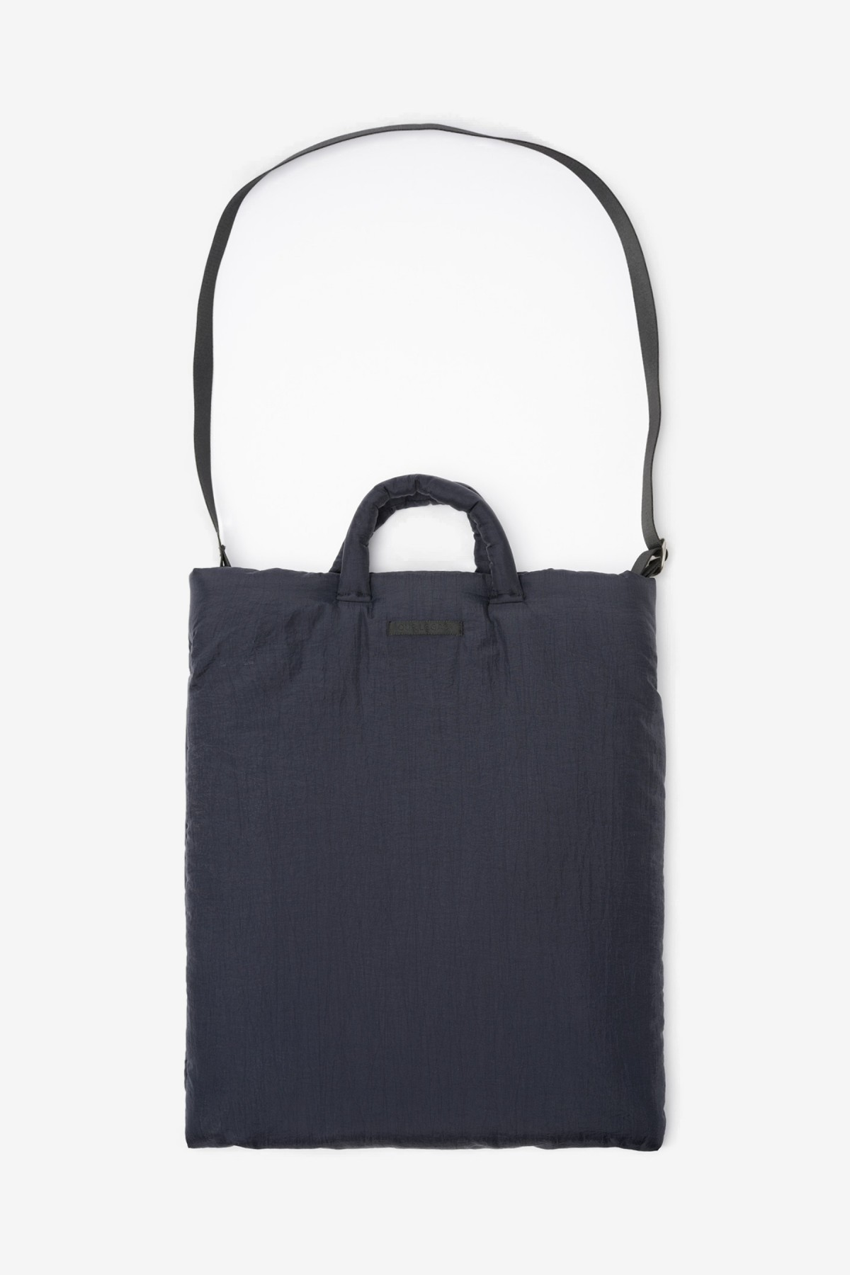 Our Legacy Pillow Tote in Dark Navy Relic Nylon
