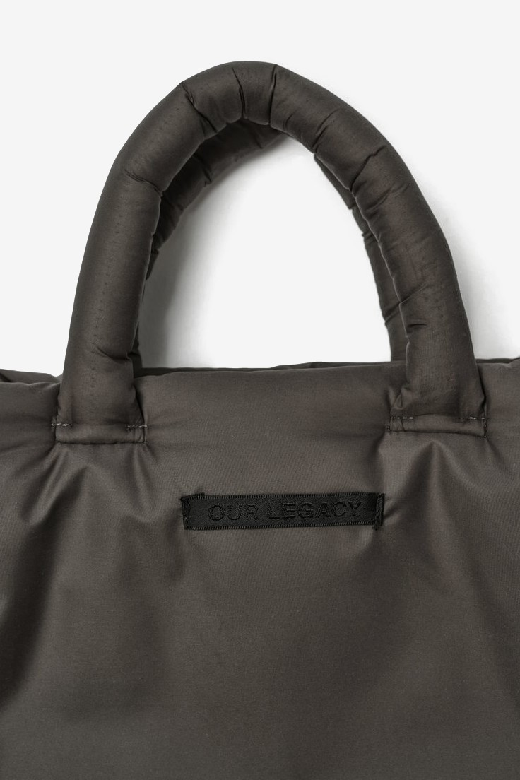 Our Legacy Pillow Tote - One Size in Olive