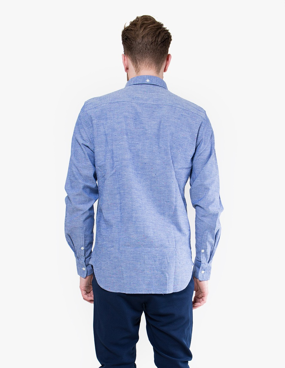 Penfield Hadley Chambray Shirt in Blue