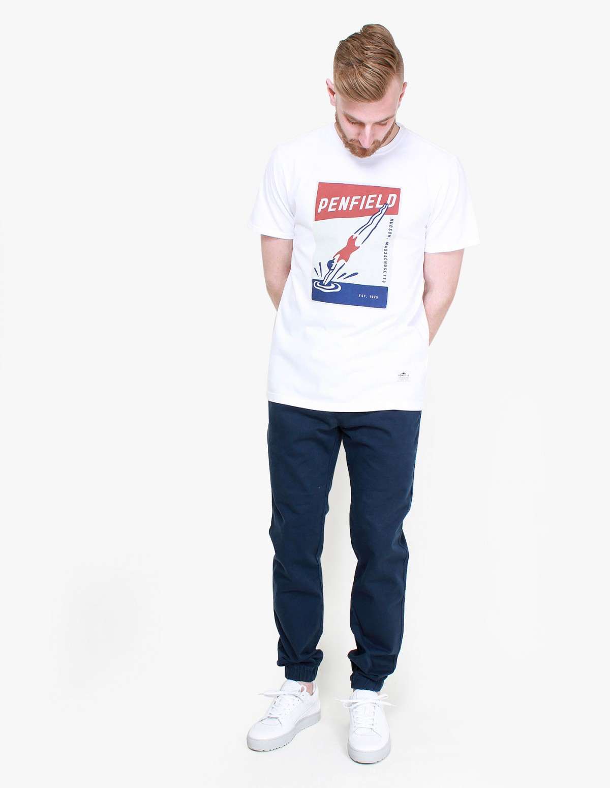 Penfield Diver T-Shirt in White