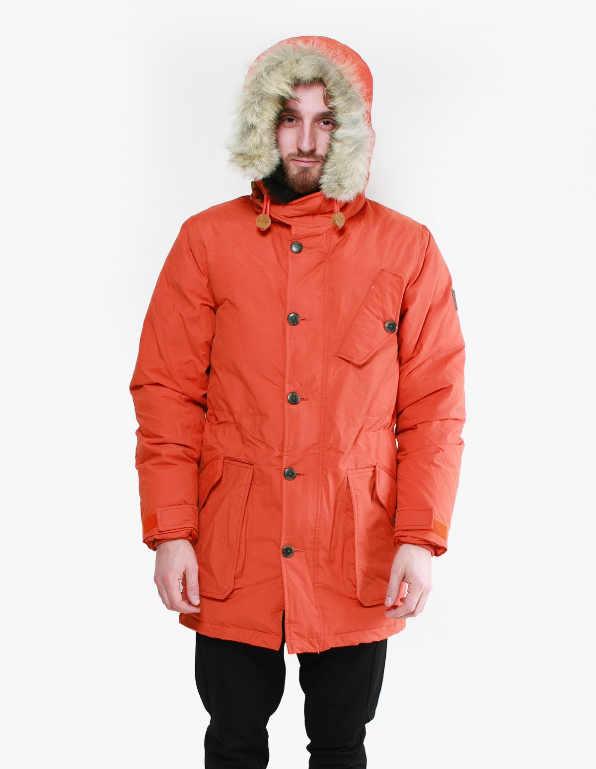 Penfield Hartland Down Expedition Parka in Orange