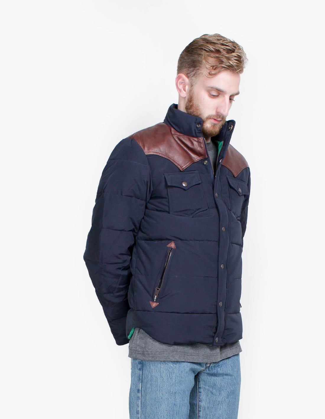 Penfield Stapleton Jacket in Navy