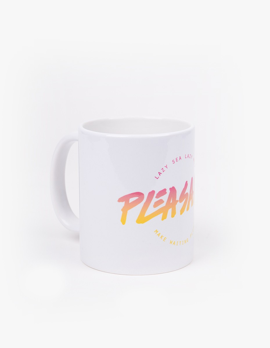 Pleasant Baywatch Mug in White Ceramic