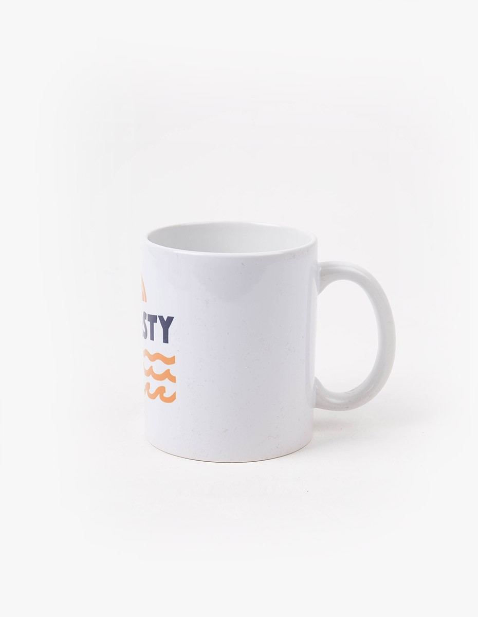 Pleasant Thirsty Mug in White