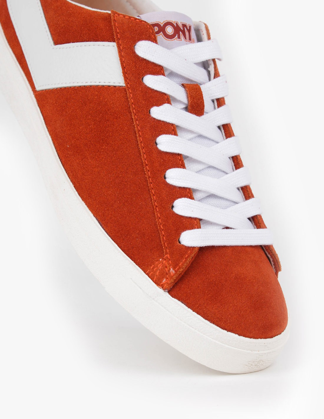 PONY Topstar Suede Ox in Burnt Ocre