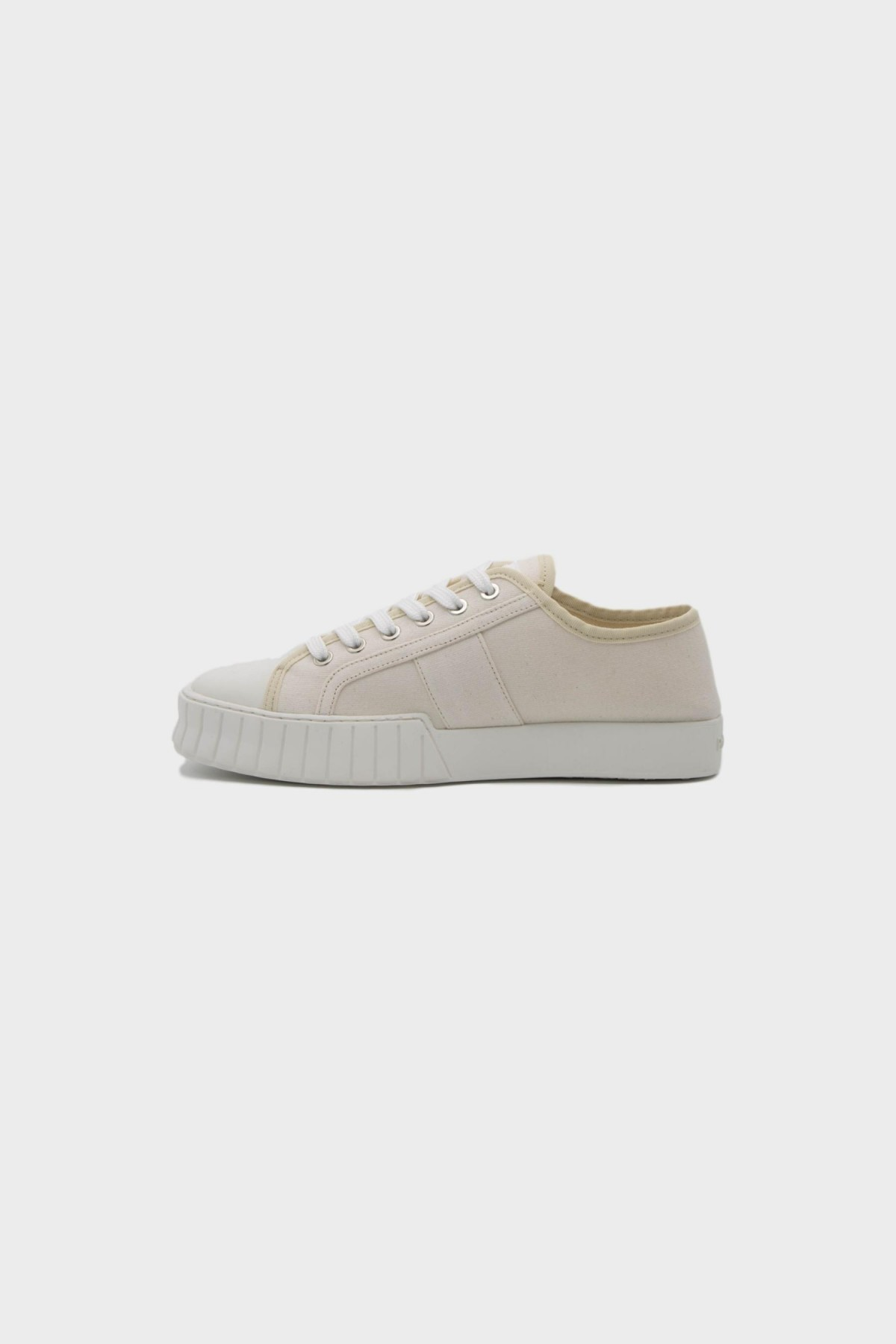 Primury Divid Recycled Canvas in White Sole