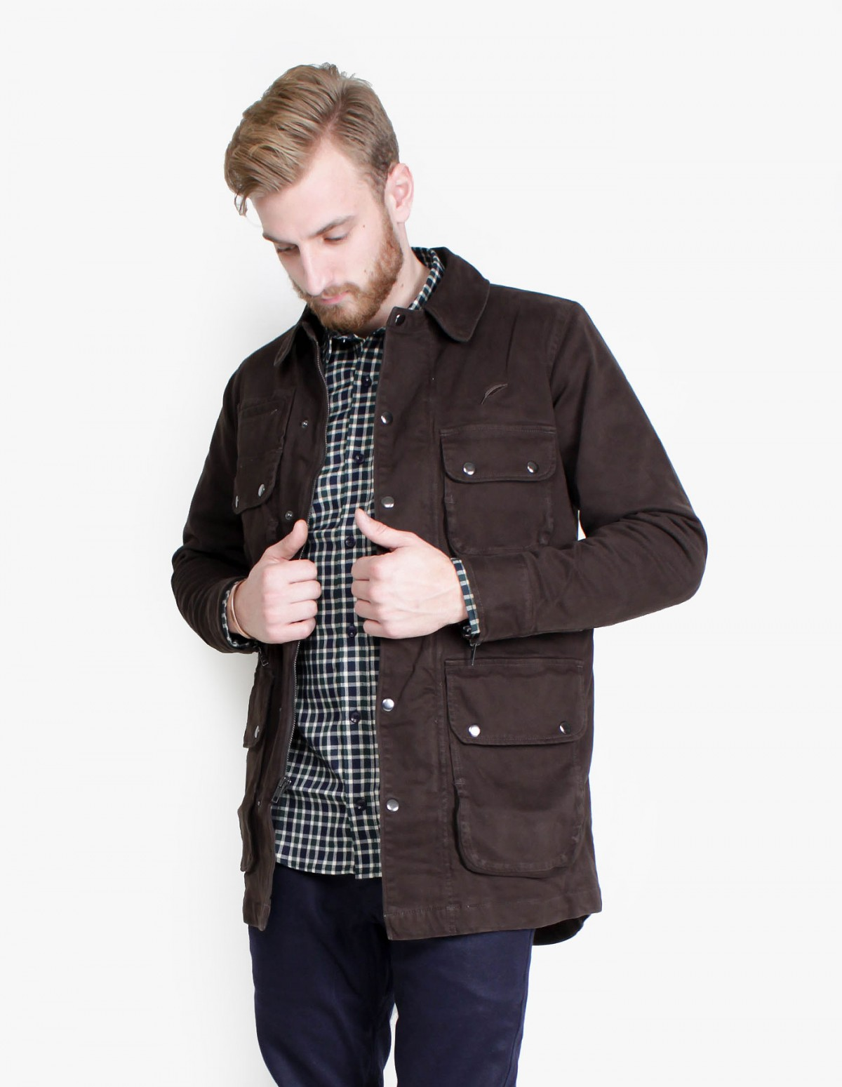 Publish Eugene Jacket in Charcoal
