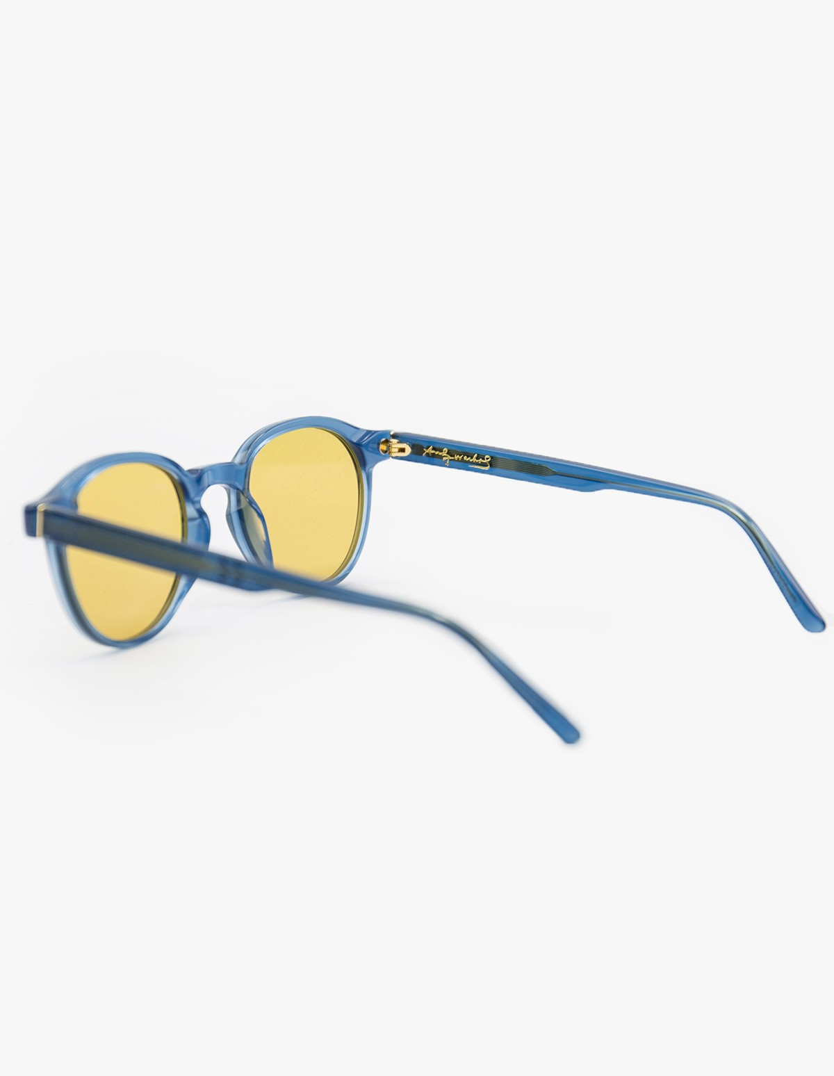 Retrosuperfuture Andy Warhol The Iconic Series Sunglasses in Crystal Azure