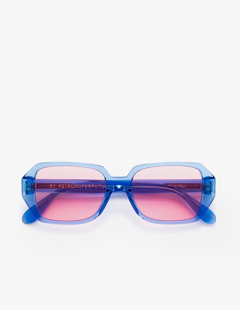 Retrosuperfuture Limone Wagwan Sunglasses  in Bubbagum