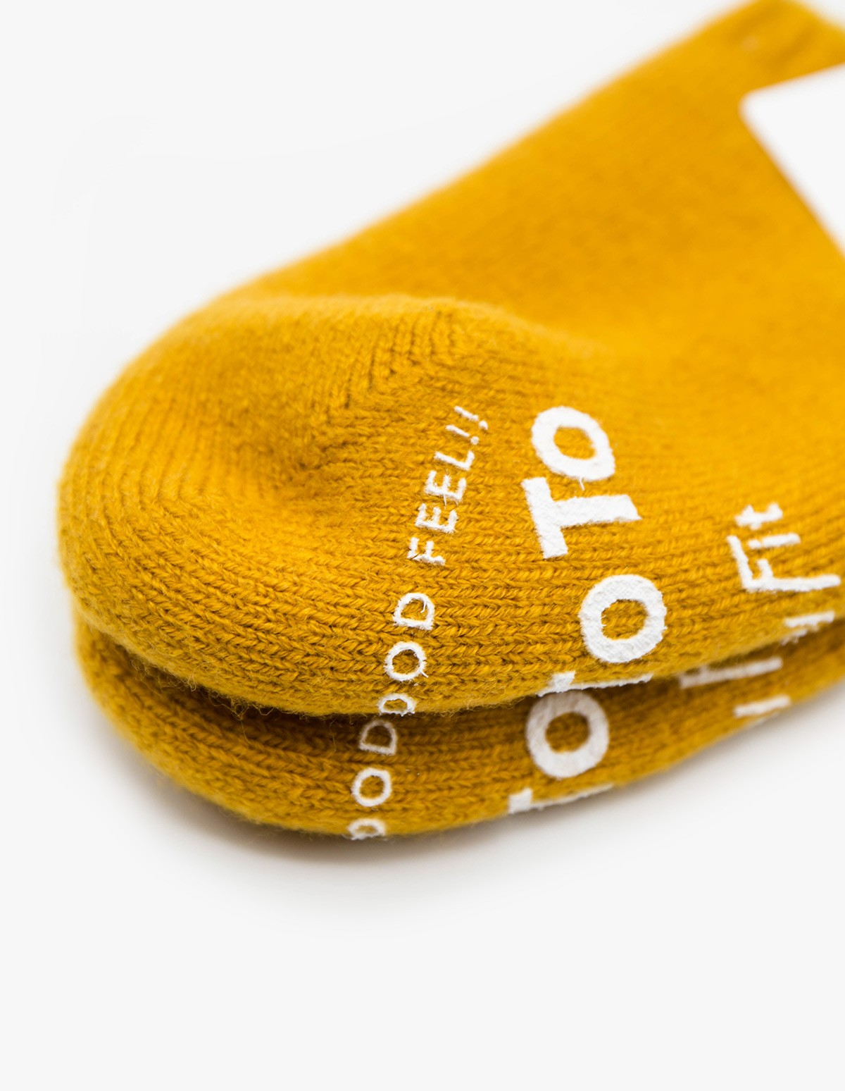 RoToTo Pile Socks Slipper in Gold