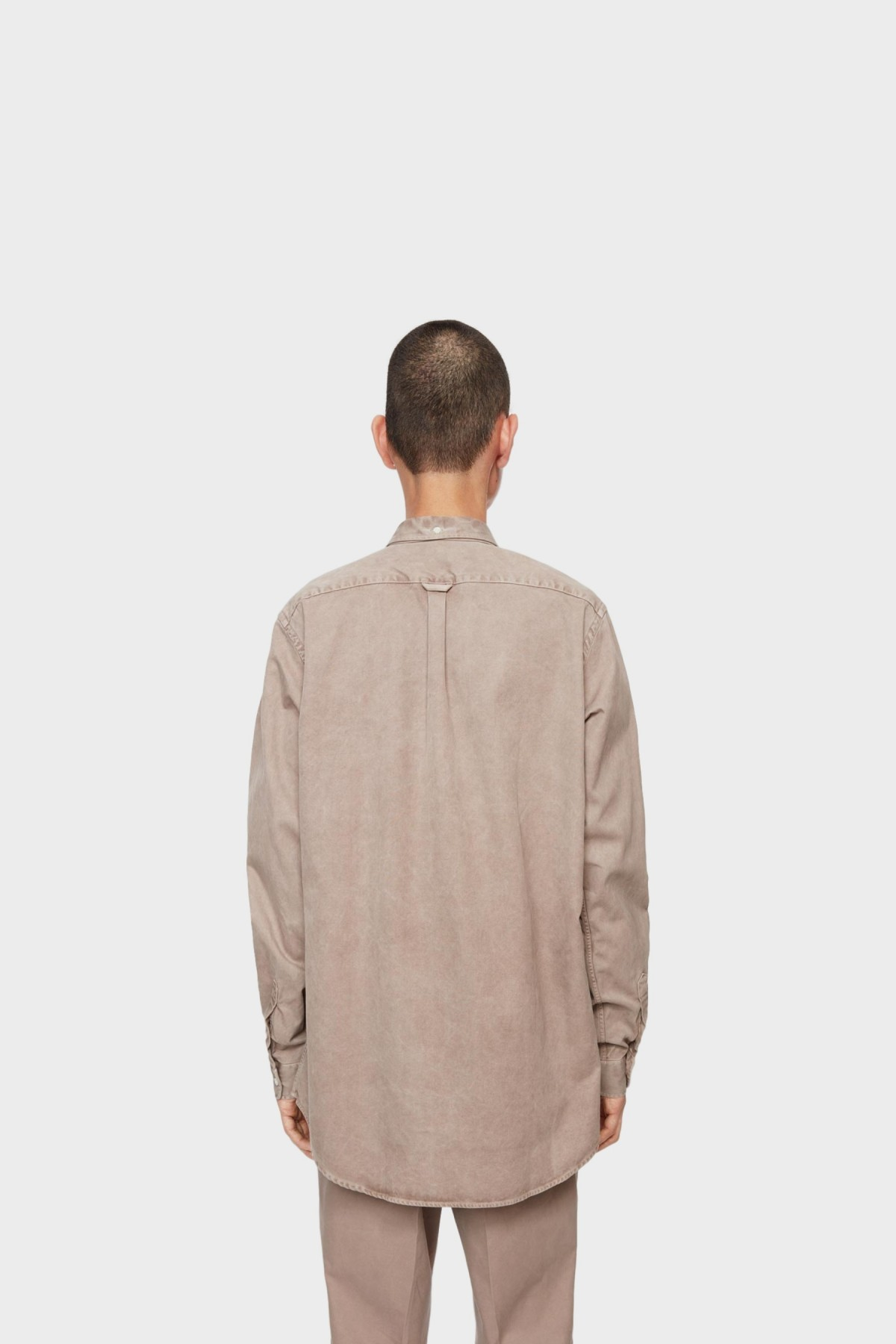 Schnayderman's Shirt Overdyed One in Camel