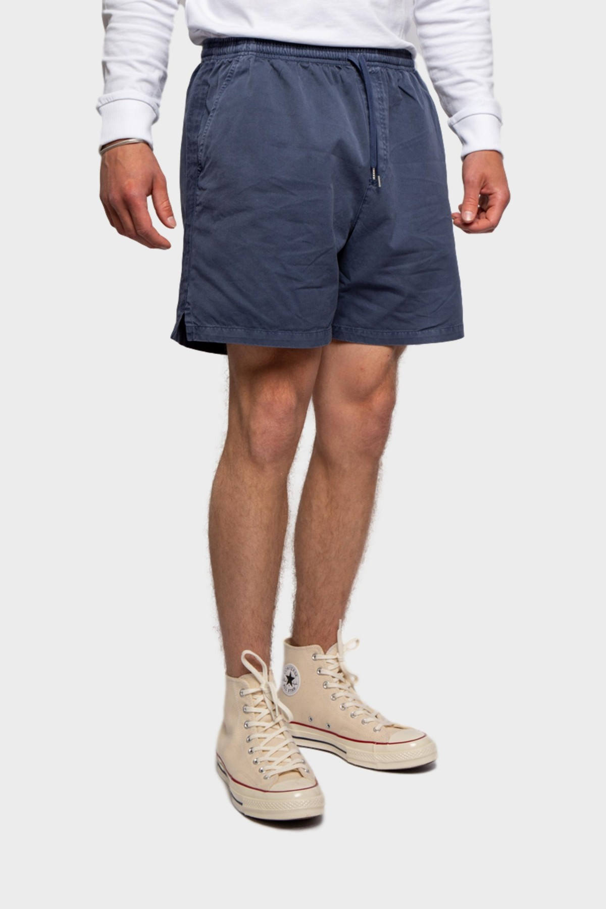 Schnayderman's Shorts Garment Dyed in Mood indigo