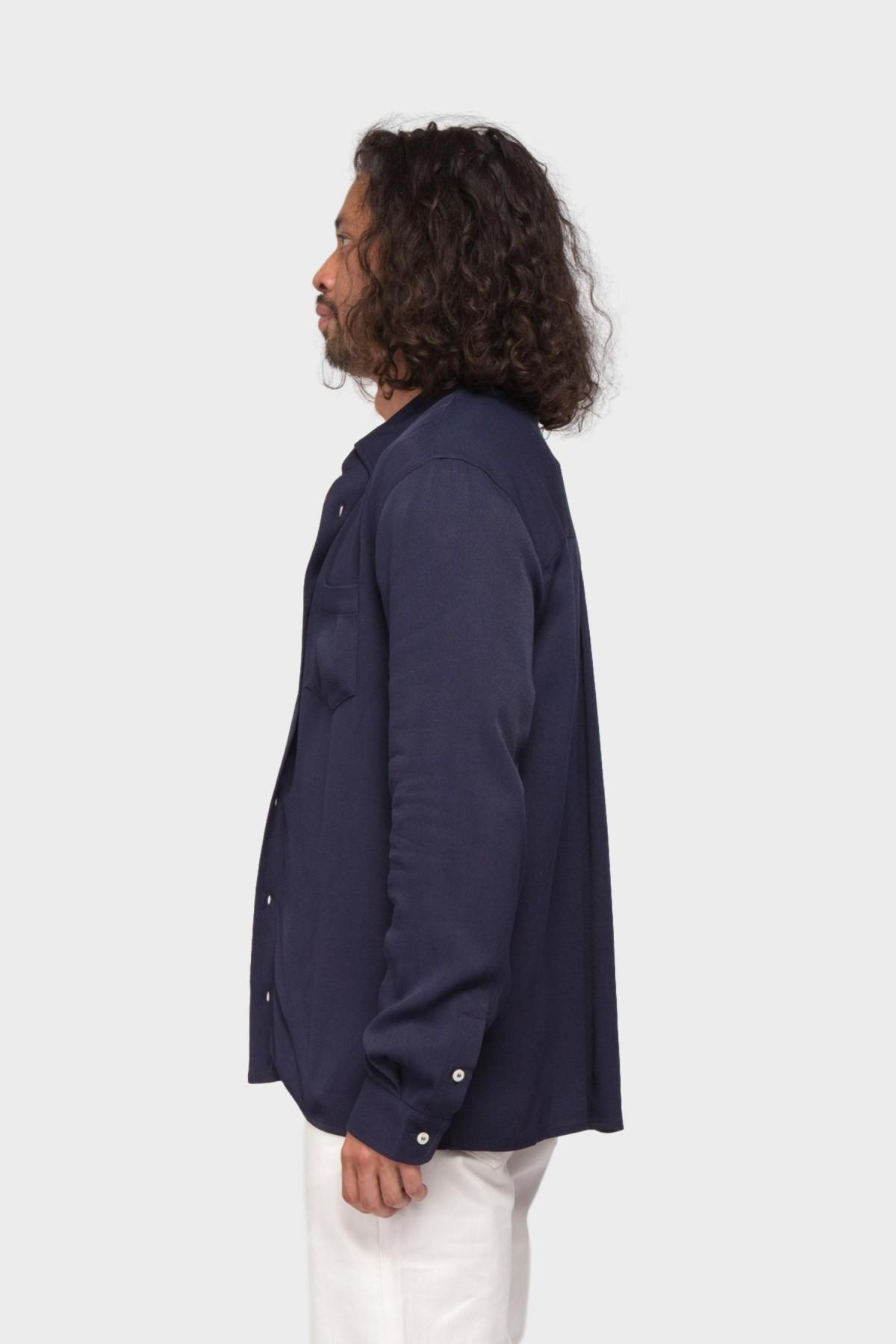 Séfr Hampus Shirt  in Navy