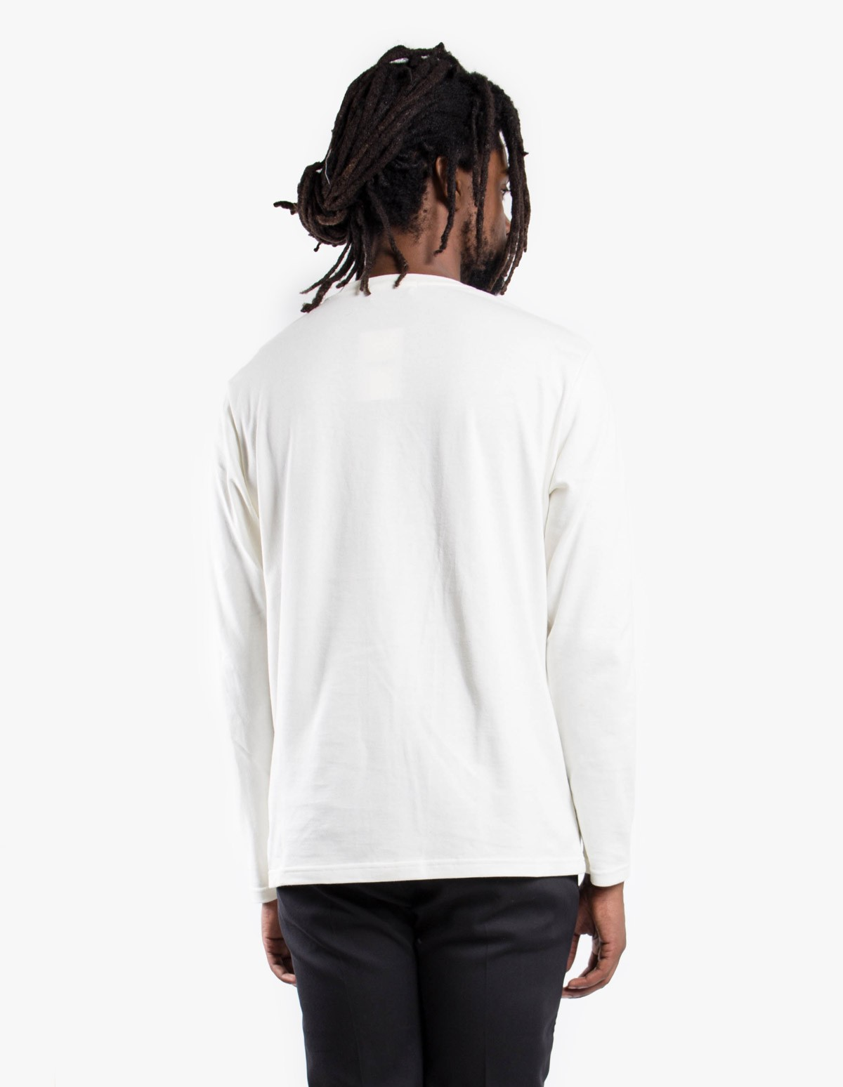 Séfr Clin Long Sleeved Tee in Off White