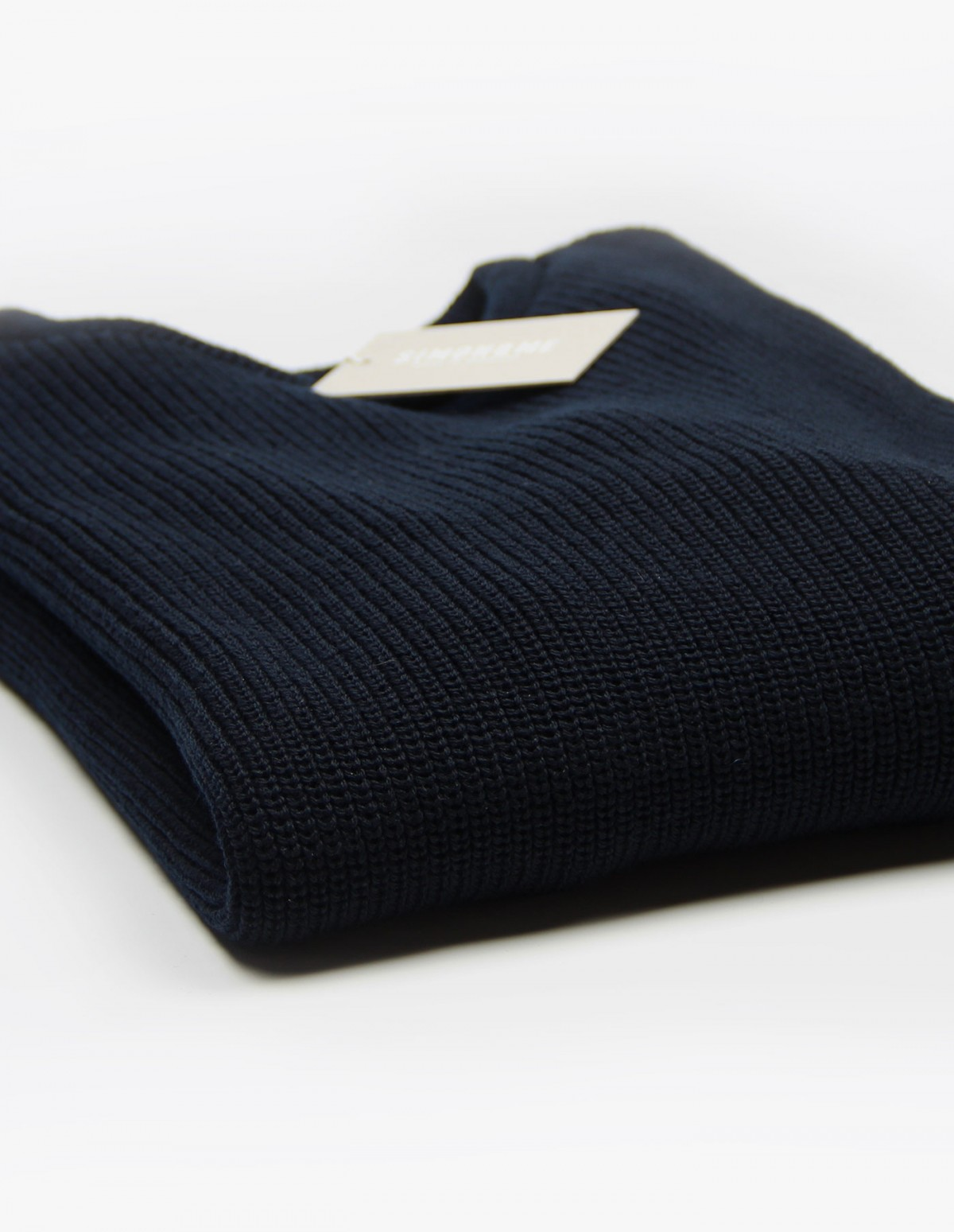 The Knitted Sweater in Navy