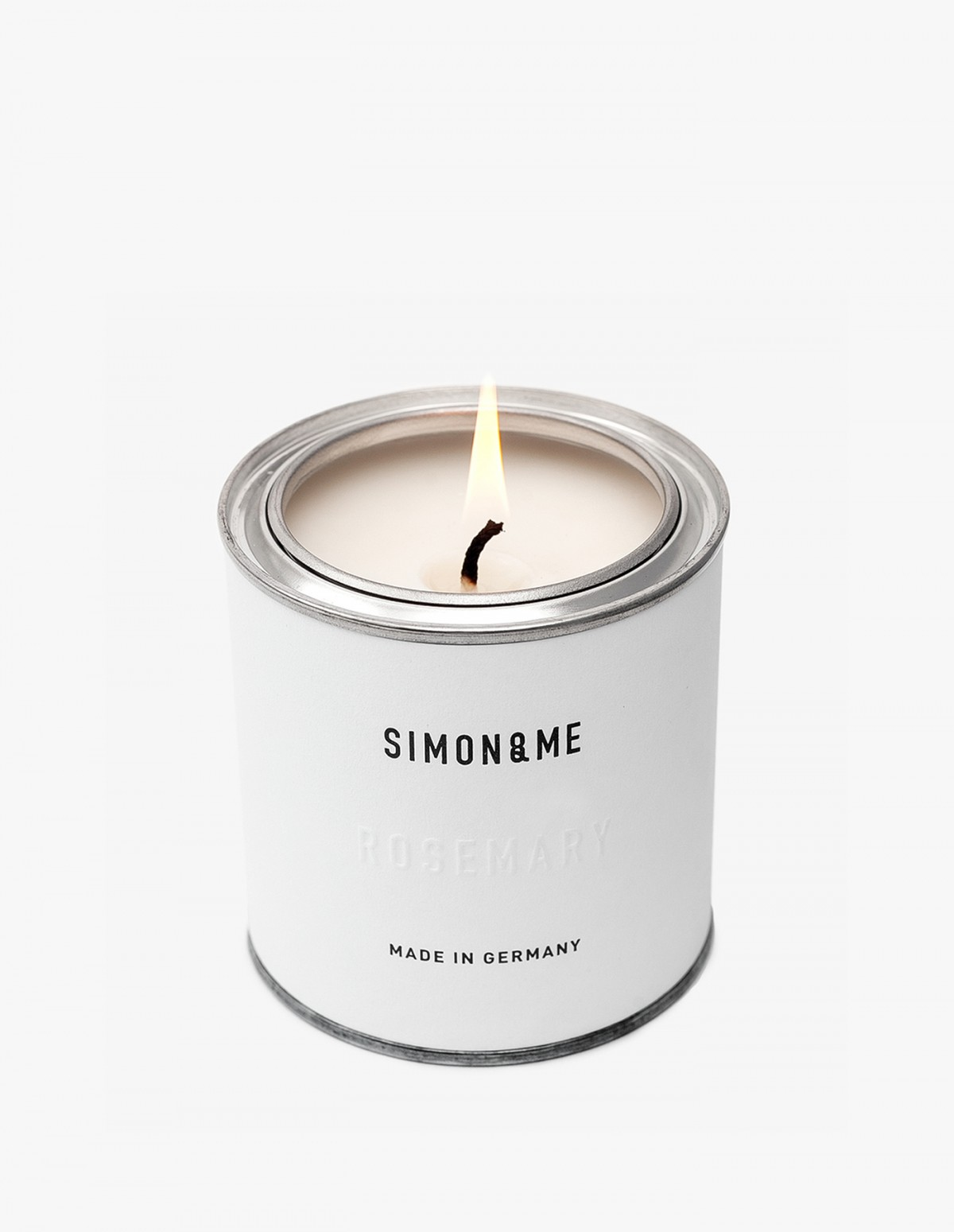 The Scented Candle in Rosemary