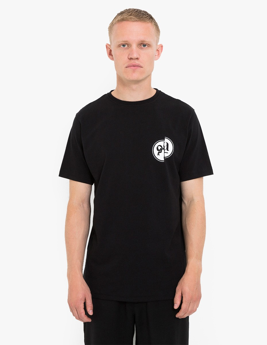 Soulland Victor T-Shirt in Black