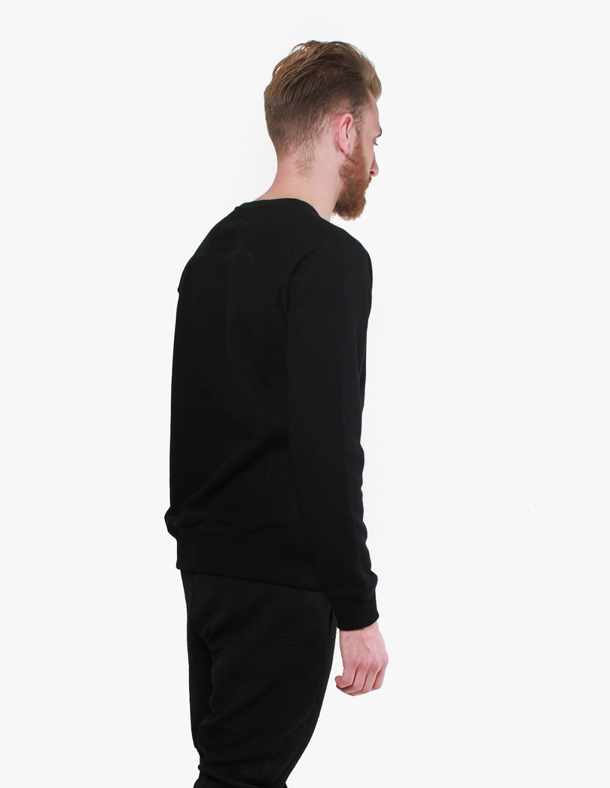 Soulland Beardsley Sweat in Black