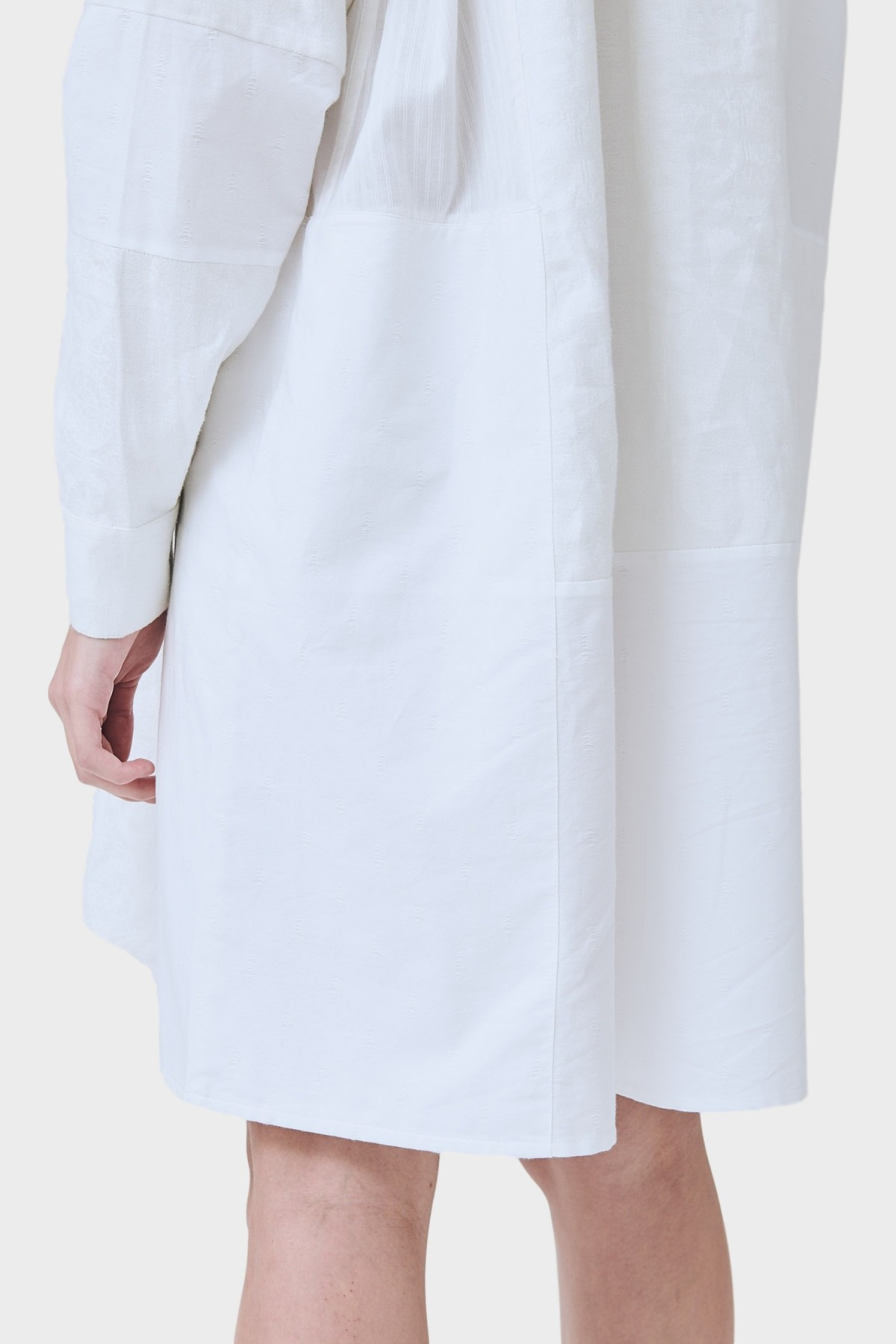 Soulland Elisa Over & Out Dress in White