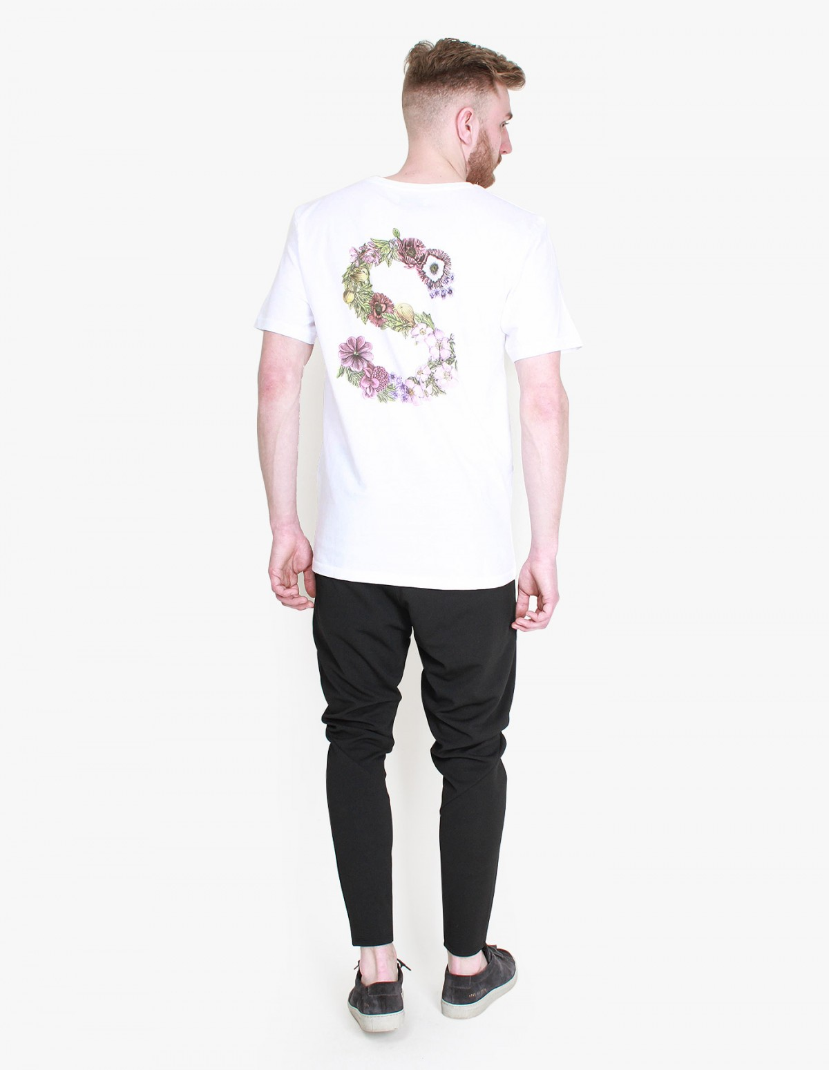 Soulland Flower T-Shirt in White