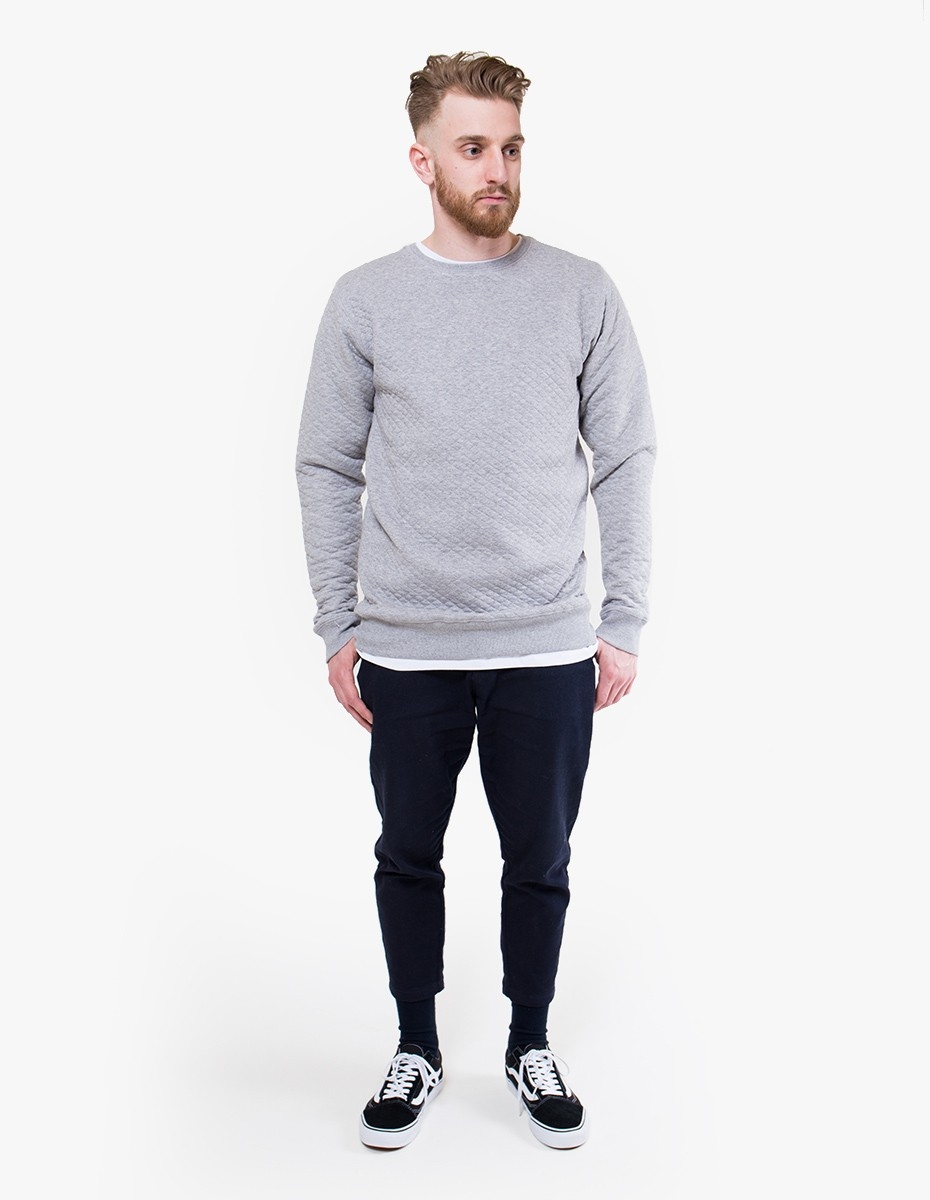 Soulland Huddleston Sweat in Grey