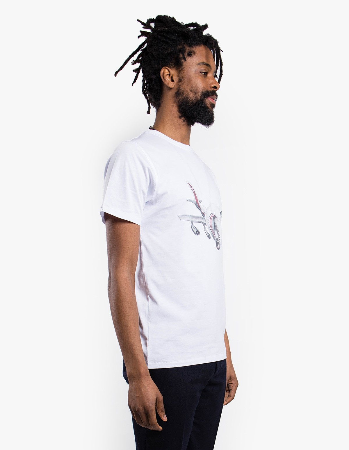 Soulland Larry T-Shirt in White