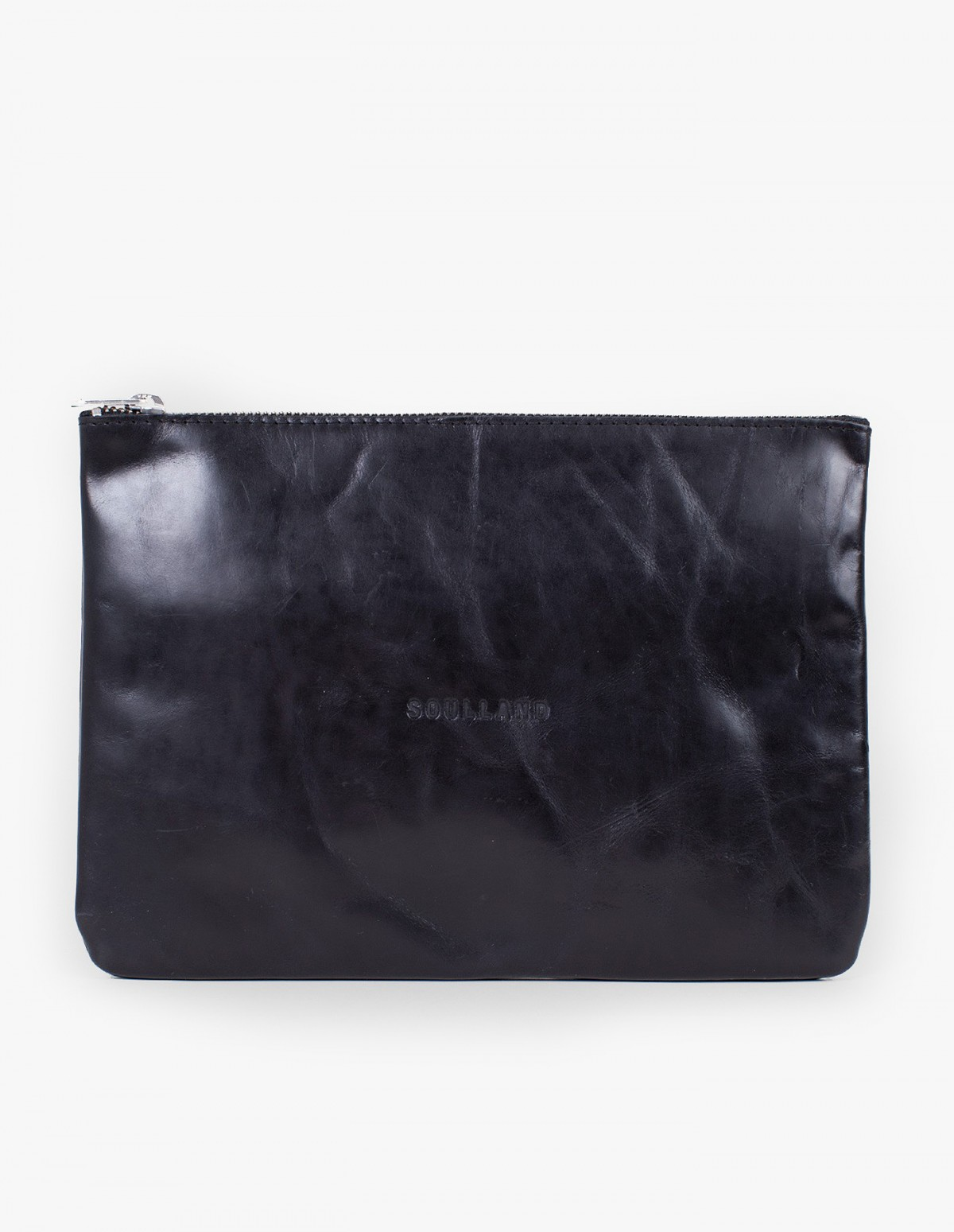 Soulland Magdalene Big Wallet in Black