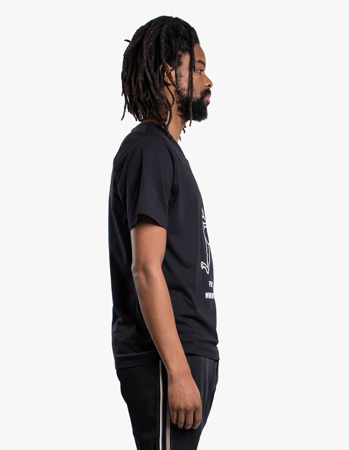 Soulland Mr. Green - Karl Tee  in Black
