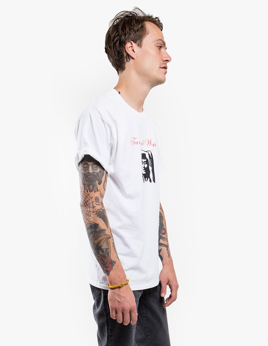Strangers Fear and Worries Tee in White
