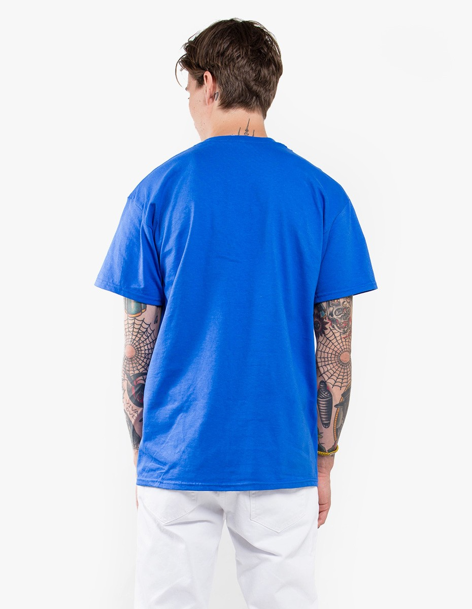 Strangers Just Good Friends Tee in Royal Blue