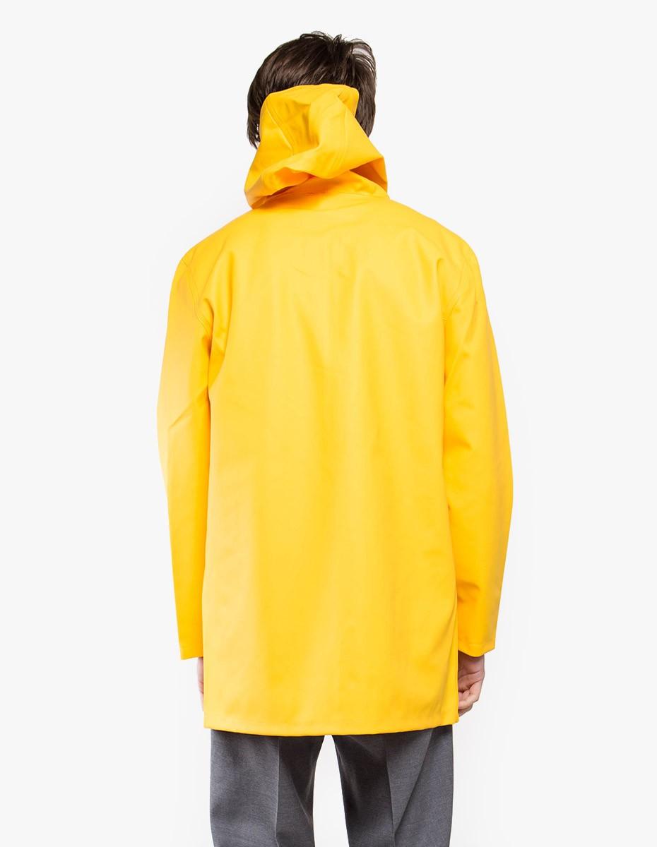 Stutterheim Stockholm Raincoat in Yellow