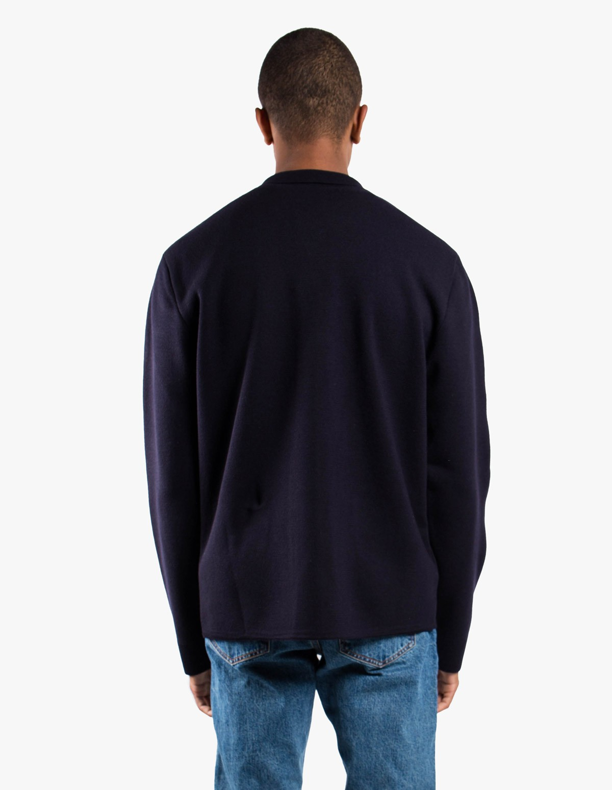 Sunspel Milano Jacket in Navy