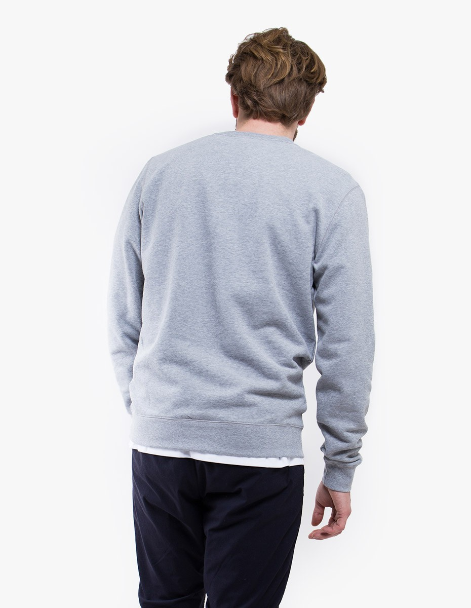 Sunspel Sweat top  in Grey Melange