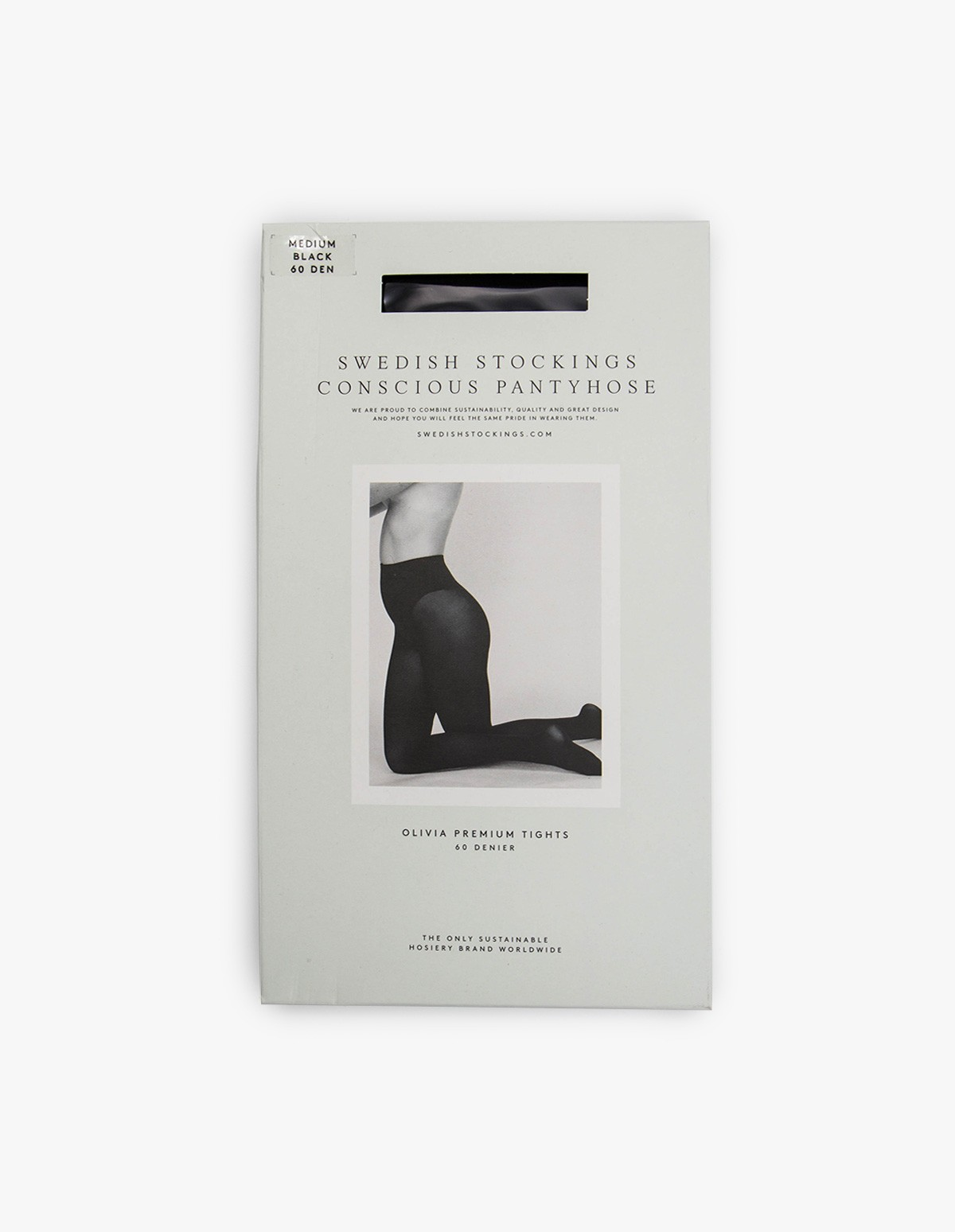 Swedish Stockings Olivia 60 Den in Black
