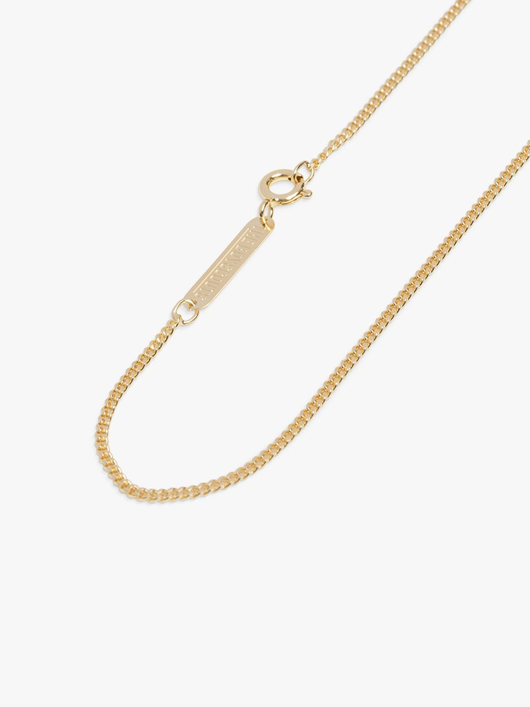The Boyscouts Facet Choker Necklace Gold in Gold